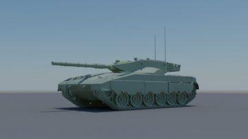 Merkava Mark I 3D model