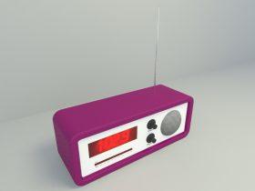 Mini Radio 3d model