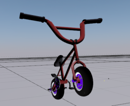 Mini Rocker 3D model