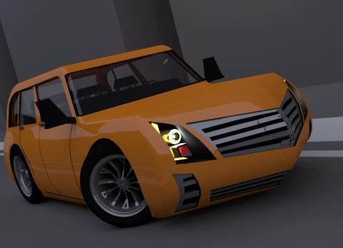 ORAN 3D model