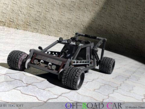 Off Road Car 3D model