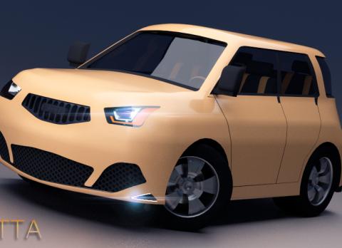 PUTTA 3D model