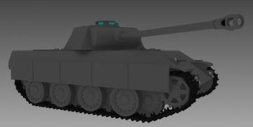Panzer V Panther 3D model