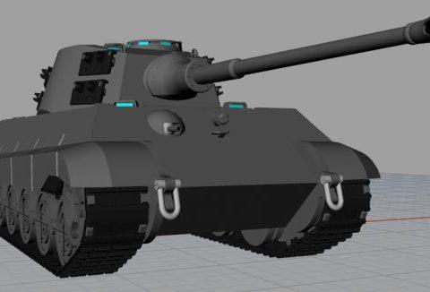 Panzer VI B King Tiger 3D model