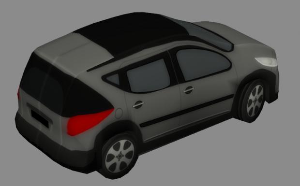 Peugeot 207 sw | Free 3D models
