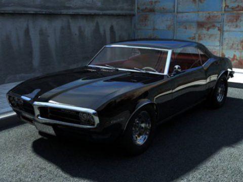 Pontiac Firebird 3D model