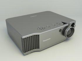 Projector 3d free model