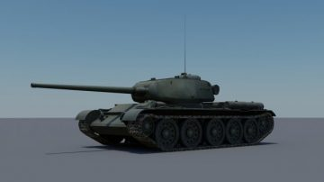 Prototype T-44-85 3D model