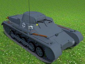 PzKpfw IB light tank