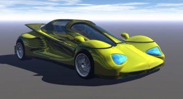 Racer Prototype 3D model