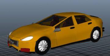 Racing Car 3D model