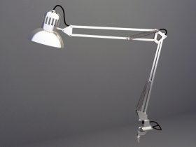 Reading Lamp 3d max model