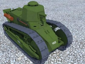 Renault FT17 light tank