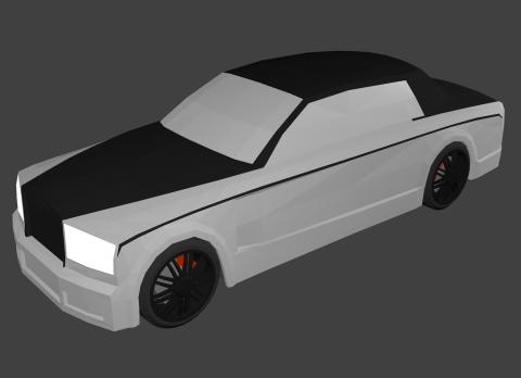 Rolls Royce 3D model