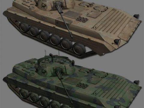 Russian Type90 APC 3D model