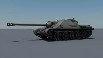 SU-122-44 3D model