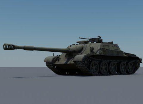 SU-122-54 3D model