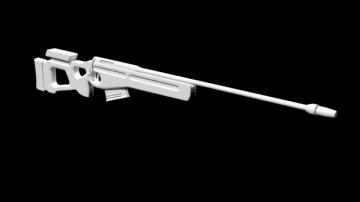 SV-98 3D model