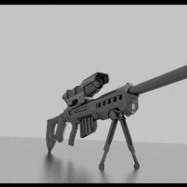 Sniper Rifle KSR-29 Retexurted