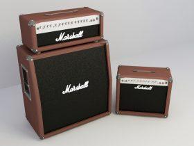 Speaker marshall 3d model