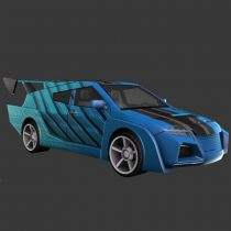 Speed Car 3D model