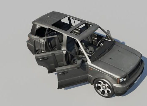 Sport utility vehicle 3D model