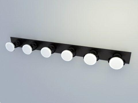 Stage Common spotlights 3d model