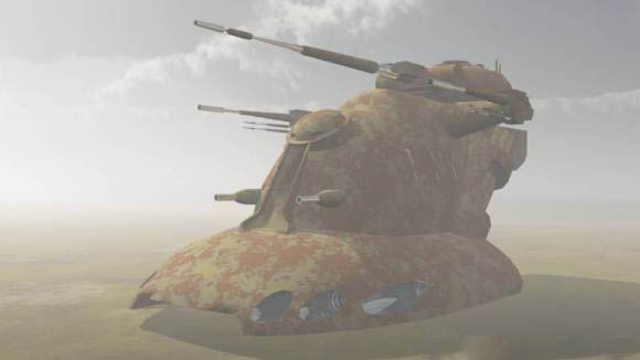 Star Wars AAT TANK 3D model