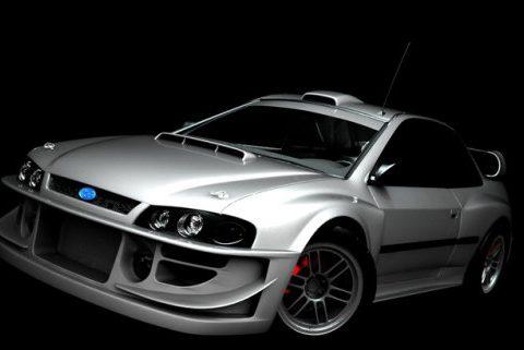 Subaru Impreza S2000 Rally 3D model