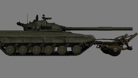 T-64B Trall 3D model