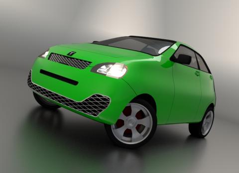 T-GHM 3D model