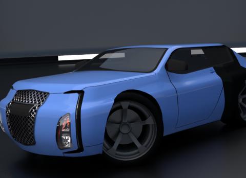 T-SM4 3D model