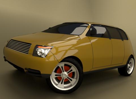 T-VCM 3D model