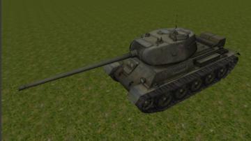 T43 Medium Tank 3D model