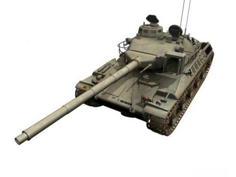 Tank AMX 30 3D model