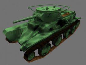 Tank BT5 3D model