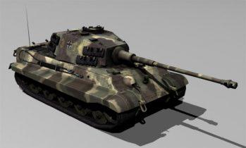 Tiger King 3D model