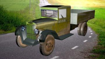 ZiS-5 Triohtonka 3D model