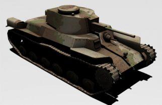 Type-97 Tank 3D model