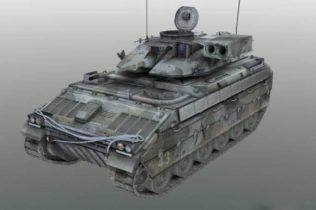 US APC 3D model
