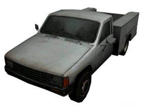 Utility Truck 3D model