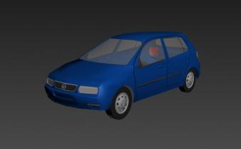 Volkswagen Polo 5-door 1995 3D model