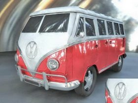 Volkswagen Transporter 3D model
