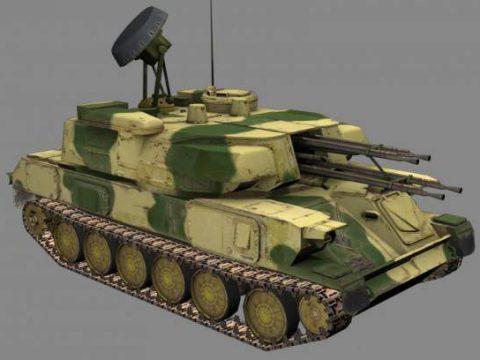 ZSU-23 Shilka 3D model