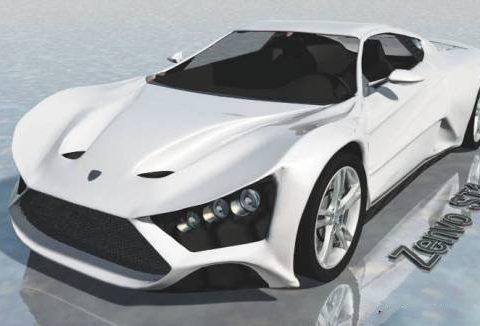 Zenvo ST1 3D model