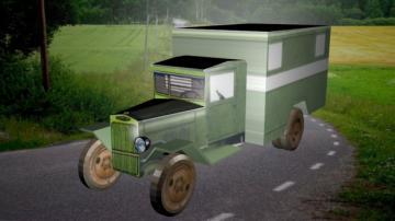 ZiS-5V 3D model
