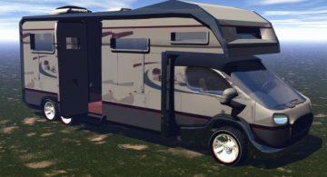 Contemporary RV truck 3D model