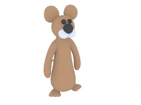 mouse toy 3d model