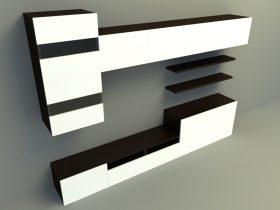 tv panel 3d model