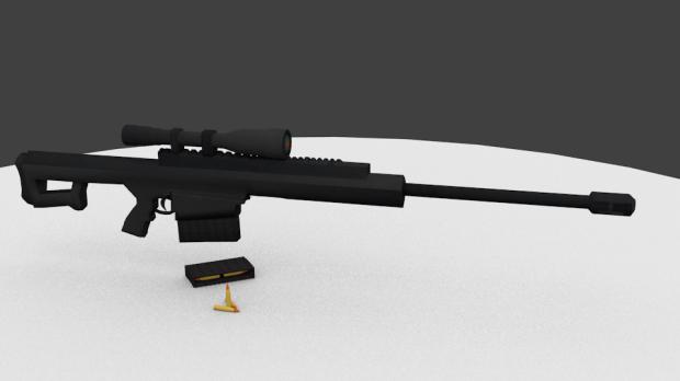 .50 Cal Sniper